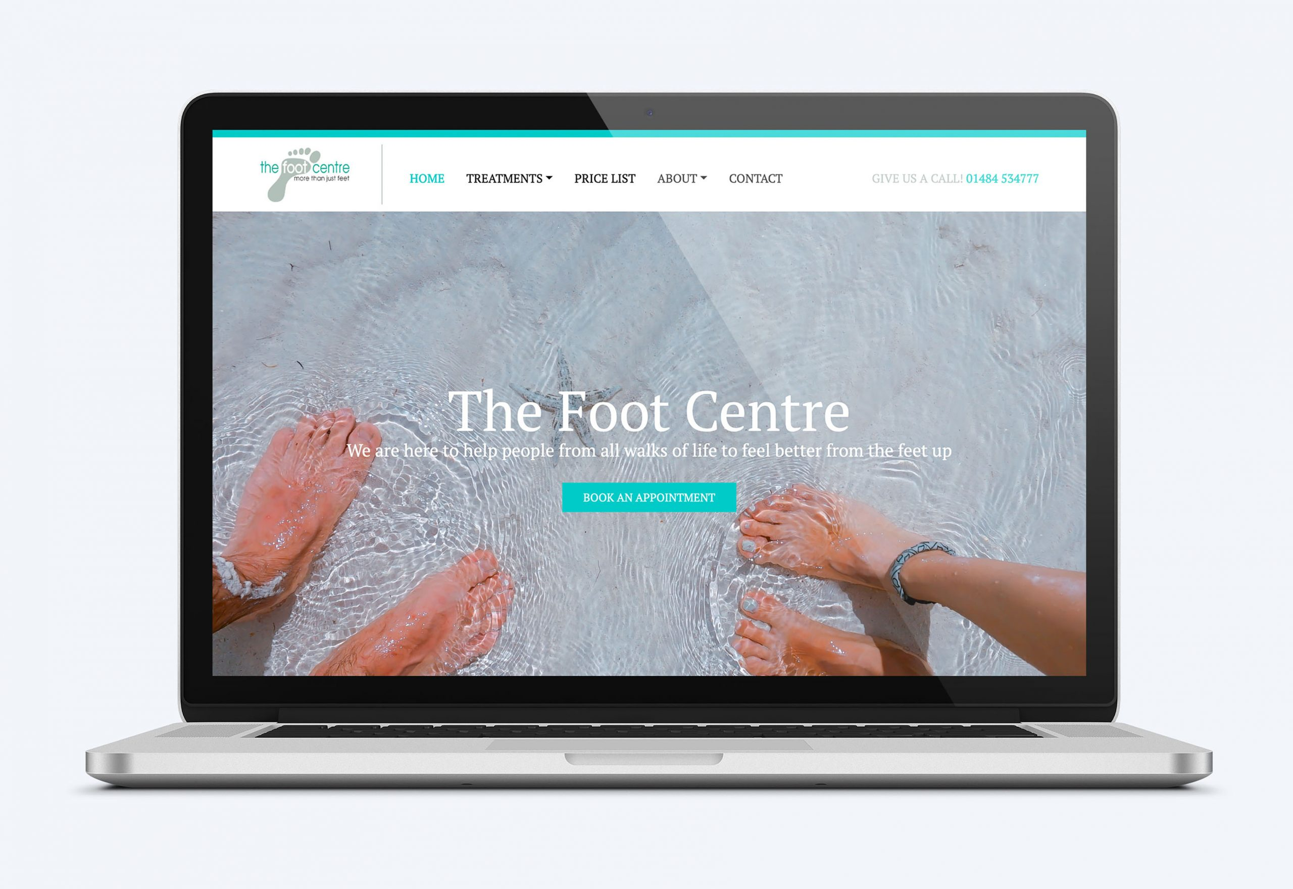 Cyberfish Designs The Foot Centre